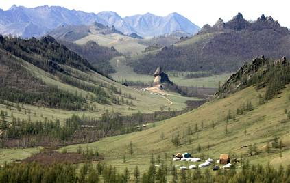 Mongolia on the TranSiberian railroad